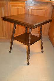 claw foot table with glass balls in the claw antique wood glass ball brass claw foot l table furniture