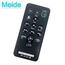 sony speakers for home theater used genuine original remote control rmt cxf300ip for font b sony b font personal audio system jpg