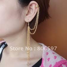 what are clip on earrings whhec083 new design fashion golden clip earrings cross charm ear