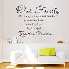 wall art design ideas family interior wall words art detailed