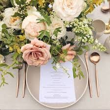 Design For Copper Flatware Ideas Blush Wedding Pinterest Wedding Reception And Wedding