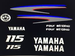 yamaha outboard motor decal kit 115 hp 4 stroke kit ozark