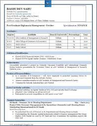 resume exle format best resume format for freshers niveresume resume