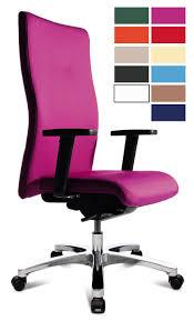 chaise de bureau violette fauteuil de bureau large et dossier réglable bresso