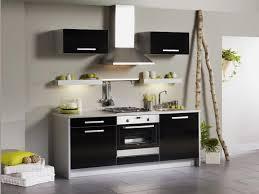 cuisine noir laqué cuisine complète noir simply k lestendances fr