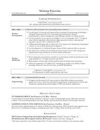 technical resume format brightside resumes resume writing