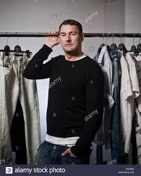 michalsky designer michael michalsky fashion designer berlin stock photo royalty