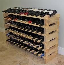 buy stackable wine rack 72 bottles modular wooden wine racks very