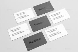 business card mock up by zeisla graphicriver