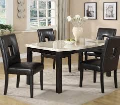 homelegance archstone 5 piece 60 inch dining room set w black