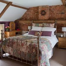 Country Bed Frame Country Bed Frame Rustic Wood Bed Frames Brick Accent Walls