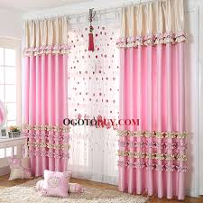 Curtain For Girls Room Luscious Princess Pink Polyester Room Darkening Curtain For Girls