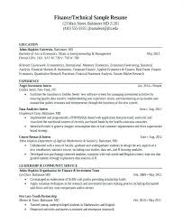 data analyst resume data analyst resume exles data analysis sle resume finance