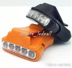 clip on visor light micro mini led hat clip light super bright hands free visor l
