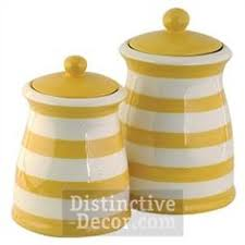 yellow kitchen canisters a trio of green kitchen canisters available in our shop