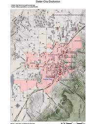 Utah Counties Map Targeted Employment Areas