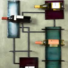 unique wine racks accessories beautiful wall mounted green wooden unique wine racks