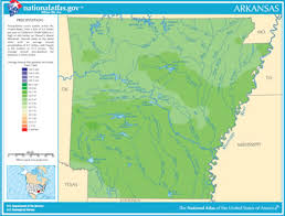me a map of arkansas map of arkansas lakes streams and rivers
