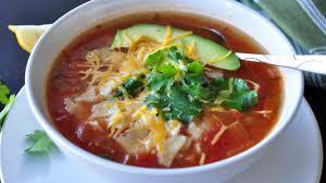 cooking light chicken tortilla soup the best chicken tortilla soup recipe genius kitchen