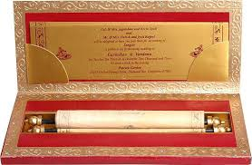 indian wedding invitations scrolls wedding invitation cards trends what s hot and what s
