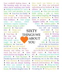 60 things for 60th birthday 60 things we about you diamond edition this