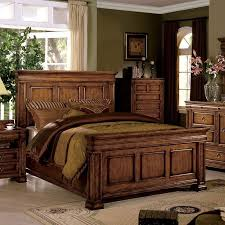 Oak Bed Cambridge Panel Bedroom Set Tobacco Oak Bedroom Sets Bedroom