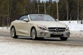 2018 mercedes benz s class cabriolet facelift takes a stroll to