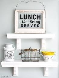 kitchenshelves com easy to build kitchen shelves cherished bliss