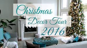 christmas decor home tour 2016 with loop control youtube for