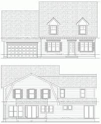 Architectures Cape Style House Plans Nantucket Cape Style