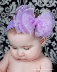 baby bows and headbands big boutique baby chiffon layered headband big baby headbands