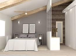renovation chambre adulte chambre aménagée sous les combles avec dressing http m