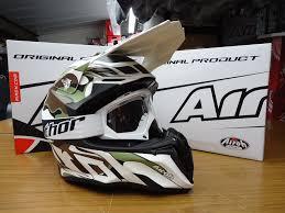 airoh motocross helmet new airoh twist mimetic camo helmet thor white goggles mx enduro