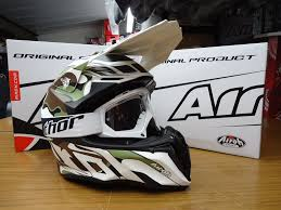 airoh motocross helmets new airoh twist mimetic camo helmet thor white goggles mx enduro