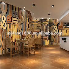 3d bars wallpapers club wall paper 3d letters mural carta da parati decorativa per