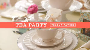 tea cup favors how to make tea cup party favors
