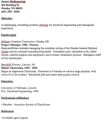 journeyman electrician resume exles exle of master electrician resume http resumesdesign