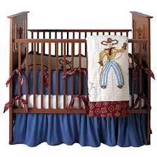 Denim Crib Bedding Baby Cowboy Bedding 2