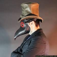 plague doctor halloween costume black plague doctor mask for sale uk usa worldwide shipping