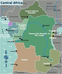 Central Africa Map Quiz by Map Of Central Africa My Blog