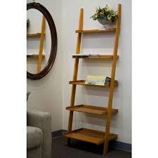 Leaning Ladder Bookshelves by Leaning Ladder Bookcase Homesfeed Leaning Ladder Bookshelves