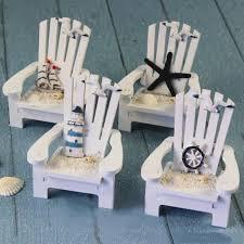nautical style table ls home lovey decor mini wood beach chair nautical ornaments