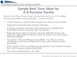 sample term sheet term sheet example term sheet example sample