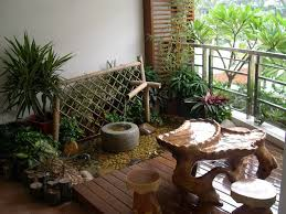 indoor concept for beautiful small garden in minimalist house