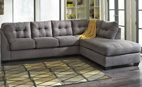 living room design of chaise lounge sectional with gray sofa