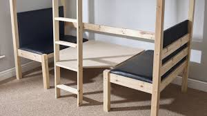 3ft Bunk Beds Strictly Beds Duo 3ft Single Solid Pine Bunk Bed With Table