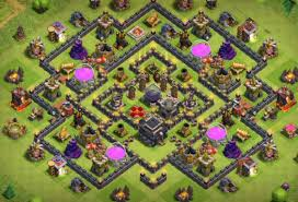 Clash Of Clans Maps Best Clash Of Clans Th9 Farming Base Attackia Clash Of Clans