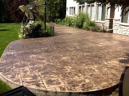 Stamped Concrete Patio Prices by Cost Of Concrete Patio Per Sq Ft