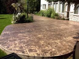Cement Patio Cost Per Square Foot by Cost Of Concrete Patio Per Sq Ft