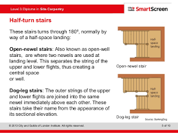 Quarter Turn Stairs Design C U0026g Powerpoint Fix A Flight Of Quarter Turn Stairs